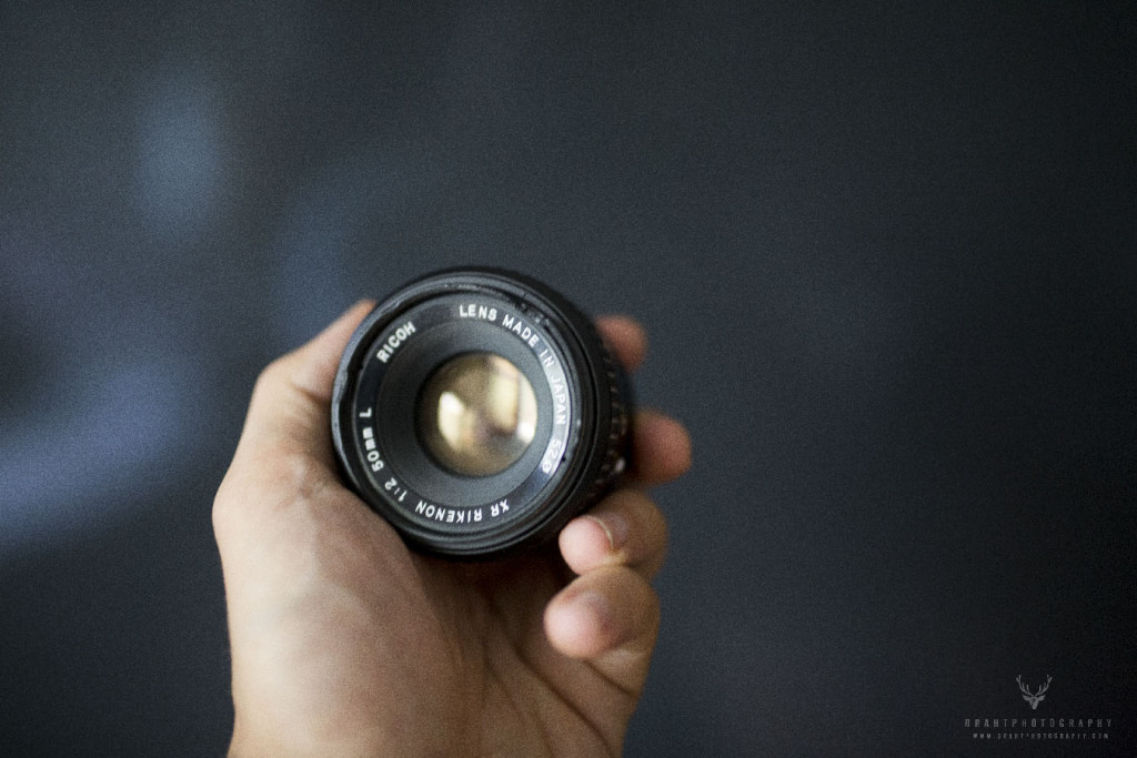 Take apart an old lens for cool effects