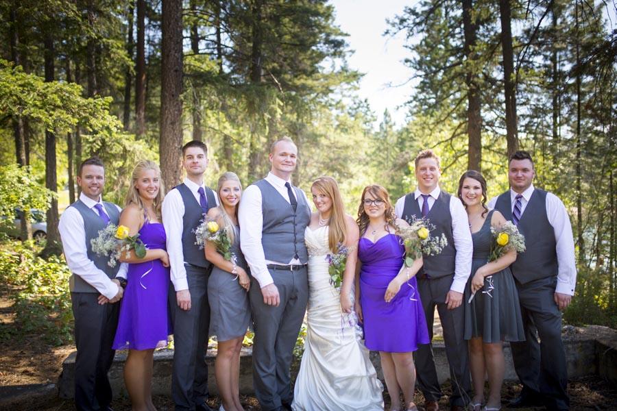 Ellison Park Vernon Wedding