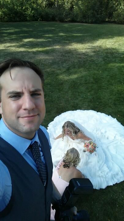 Wedding Photography Selfie