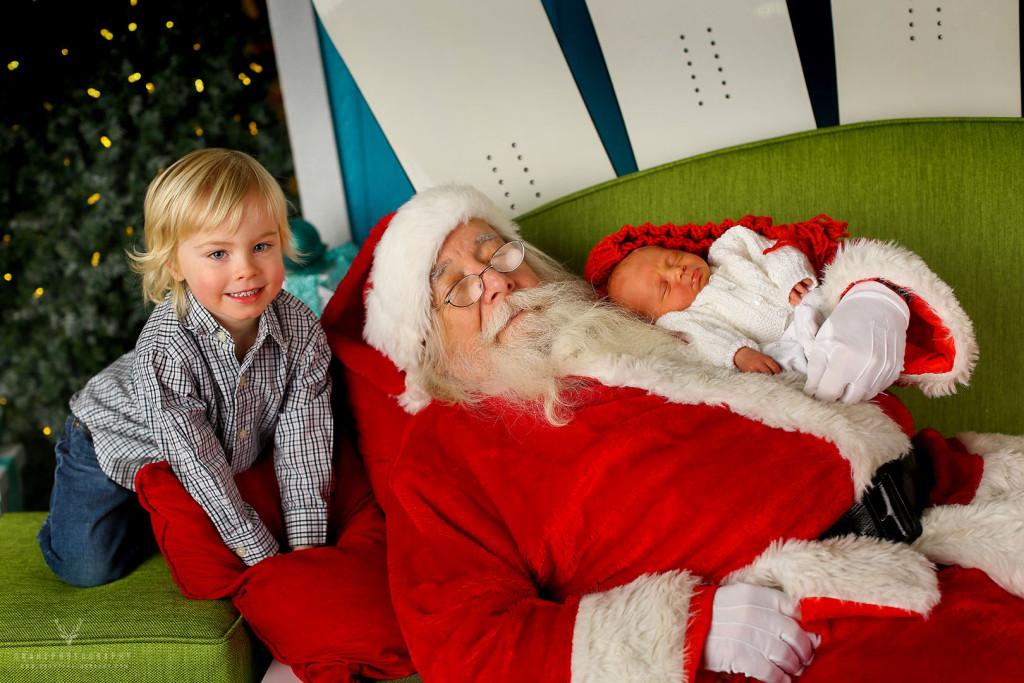 Santa Photos at the Mall