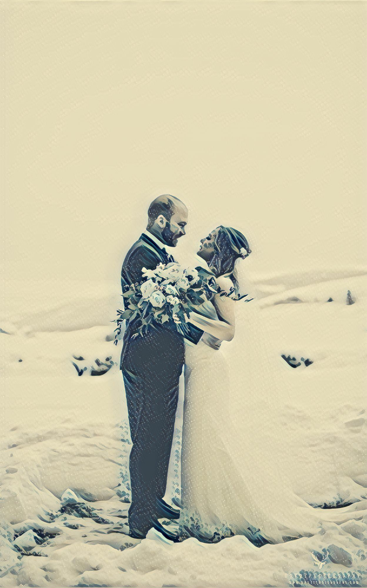 The New Years Wedding at Lone Pine Ranch Sampler - Draht Photography